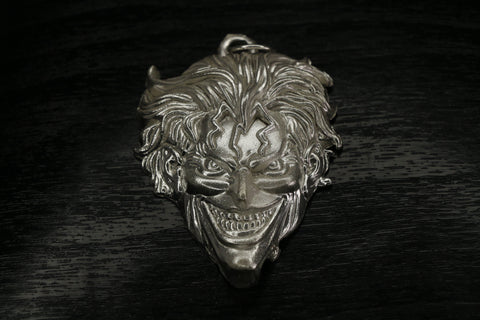 Gotham City 3D The Joker Unique Pendant Pure Silver | Royal Dubai Jewellers