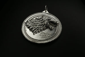 Game Of Thrones House Of Stark Medallion Pendant