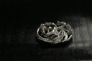 Game Of Thrones House of Targaryen Silver Pendant | Royal Dubai Jewellers