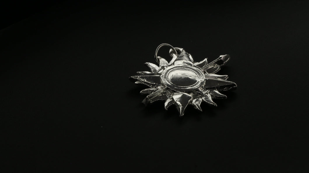 Game Of Thrones House Of Martell Silver Pendant | Royal Dubai Jewellers
