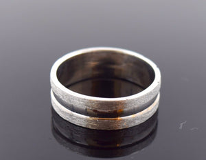 "18k 18ct Solid Gold ELEGANT MENS Ring BAND ""SIZE 8.7"" 18k BOX ""RESIZABLE"" R695"
