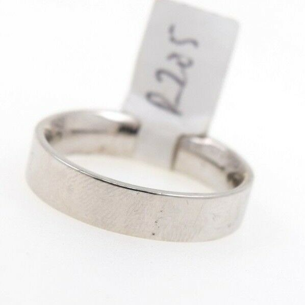 18k 18ct Solid Gold ELEGANT Charm Mens Band Ring SIZE 12