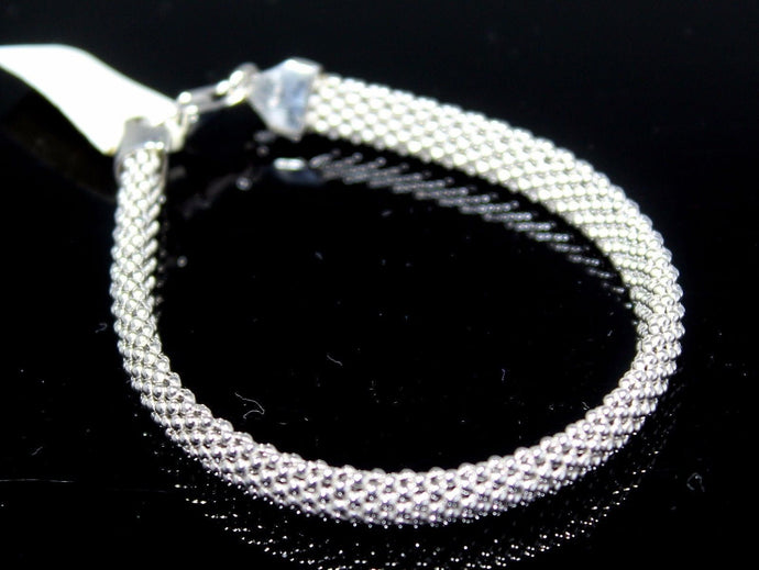 1PC HANDMADE cj6 Solid Sterling Silver 925 women modern charm style braclet