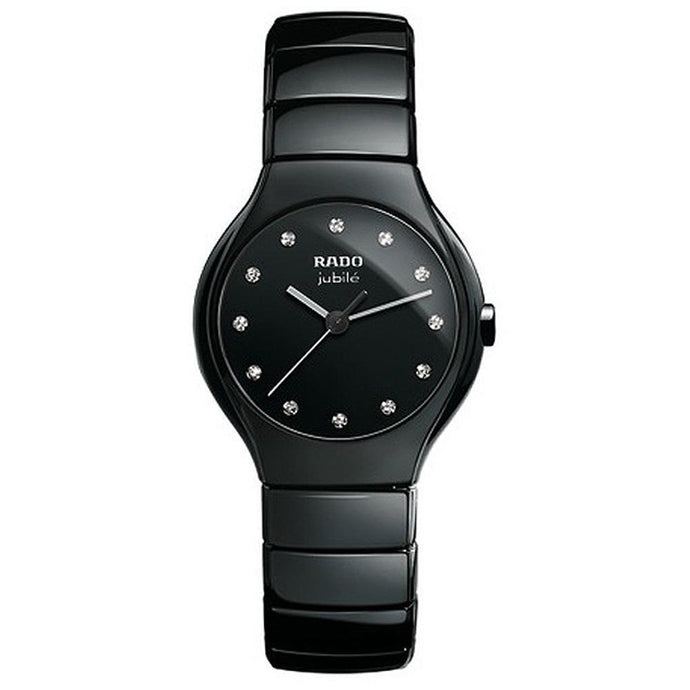 Rado True Jubile Black Ceramic Ladies Watch R27655762 img