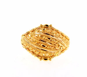 "22k 22ct Solid Gold ELEGANT LADIES BAND Ring SIZE 6.2 ""RESIZABLE"" R675"