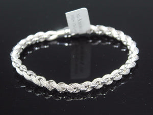 1PC HANDMADE cj4 Solid Sterling Silver 925 women modern charm style braclet