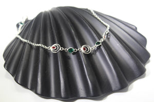 1PC HANDMADE Solid Silver Payal 925 sbb48 Sterling adult ladies Anklets