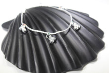 2PC HANDMADE Solid Silver Payal 925 sbb88 Sterling adult ladies Anklets | Royal Dubai Jewellers