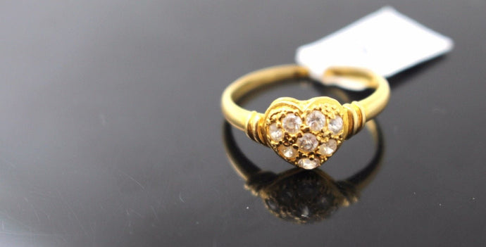 22k 22ct Solid Gold ELEGANT Ladies Ring SIZE 6