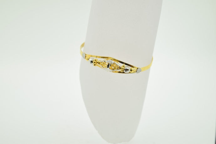 22k 22ct Solid Gold ELEGANT PLAIN BABY CHILDREN BANGLE BRACELET