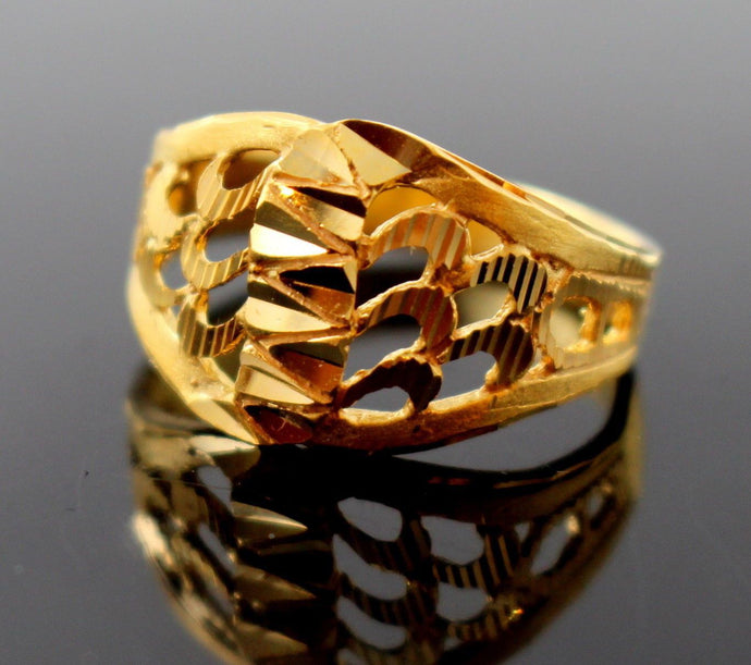 22k 22ct Solid Gold ELEGANT HIGH POLISH Ring BAND