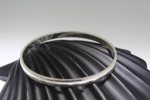 1PC HANDMADE baby b123 Solid Sterling Silver 925 size 2 inch kara Bangle | Royal Dubai Jewellers