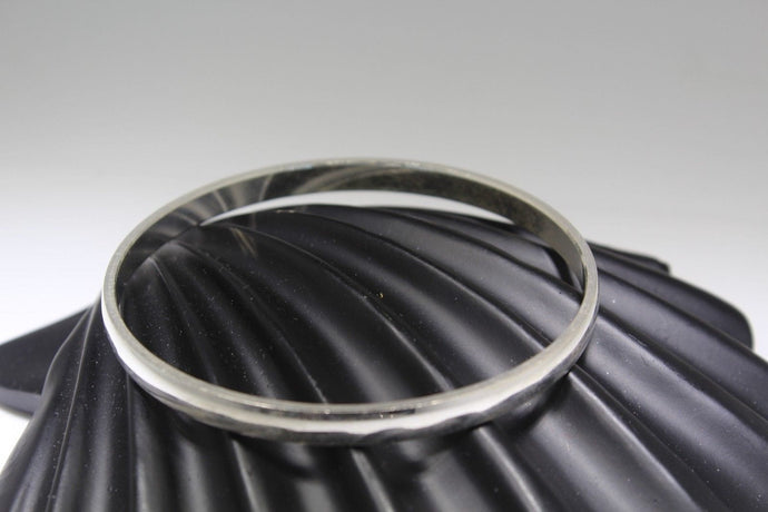 1PC HANDMADE baby b123 Solid Sterling Silver 925 size 2 inch kara Bangle