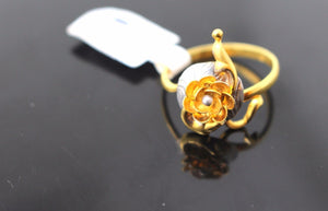 "22k 22ct Solid Gold ELEGANT Ladies Ring SIZE 7 ""RESIZABLE"" R183"