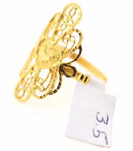 "22k 22ct Solid Gold ELEGANT Ladies Ring SIZE 9 ""RESIZABLE"" R106"