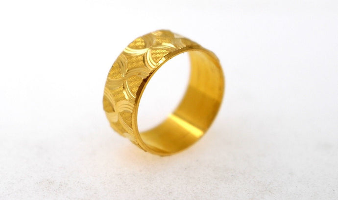 22k 22ct Solid Gold ELEGANT Band Ring