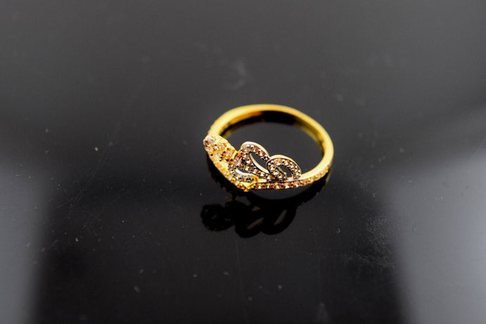22k Jewelry Solid Gold ELEGANT BAND Ring