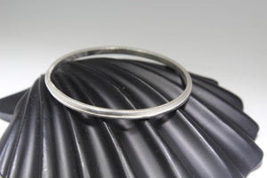 1PC HANDMADE women b109 Solid Sterling Silver 925 size 2.75 inch kara Bangle | Royal Dubai Jewellers