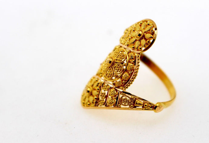 22k 22ct Solid Gold Elegant ladies Designer ring band