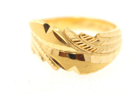 "22k 22ct Solid Gold ELEGANT Ladies Ring SIZE 7 ""RESIZABLE"" R1100"