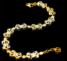 22k 22ct Solid Gold DESIGNER CURB LINK UNISEX THICK BRACELET with box B603