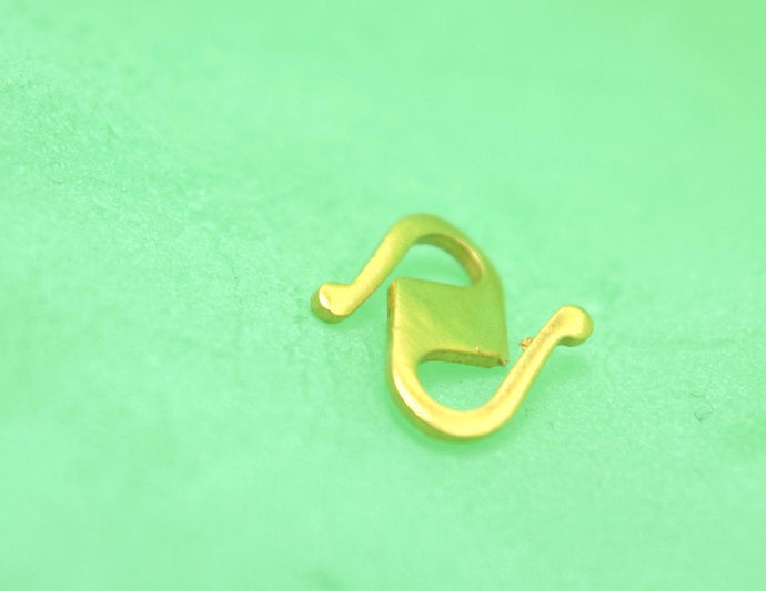 22k 22ct Solid Gold 916 CHAIN S LOCK CLASP FINDINGS Hook Claw Spring S HEAVY | Royal Dubai Jewellers