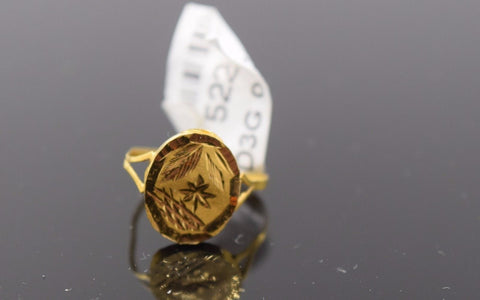 "22k 22ct Solid Gold ELEGANT BABY KIDS Ring ""RESIZABLE"" size 1 522"