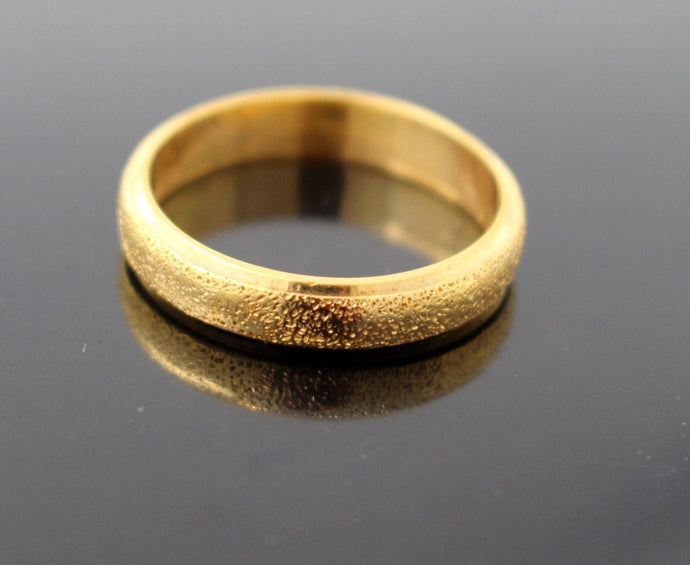 22k 22ct Solid Gold Elegant Mens Ring Band Design Size 12