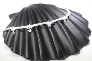 2PC HANDMADE Solid Silver Payal 925 sbb77 Sterling adult ladies Anklets | Royal Dubai Jewellers