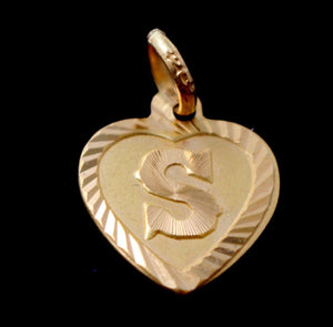 22k 22ct Solid Gold ELEGANT Heart Shape S LOCKET Pendant P828