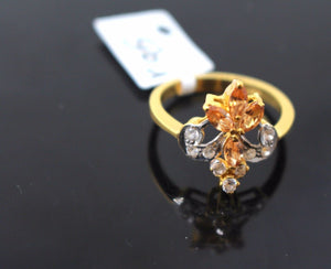 "22k 22ct Solid Gold ELEGANT Ladies Ring SIZE 7 ""RESIZABLE"" R95"