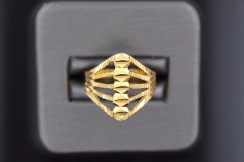 "22k 22ct Solid Gold ELEGANT Charm LADIES Ring SIZE 7.0 ""RESIZABLE"" r1100"