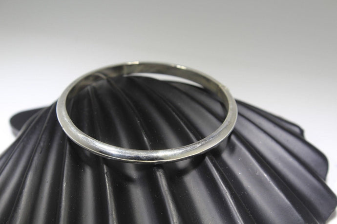1PC HANDMADE women b96 Solid Sterling Silver 925 size 2.25 inch kara Bangle Cuff