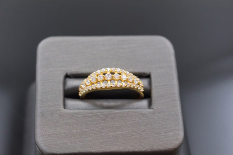 "22k 22ct Solid Gold ELEGANT Charm LADIES Ring SIZE 7.0 ""RESIZABLE"" r1101"