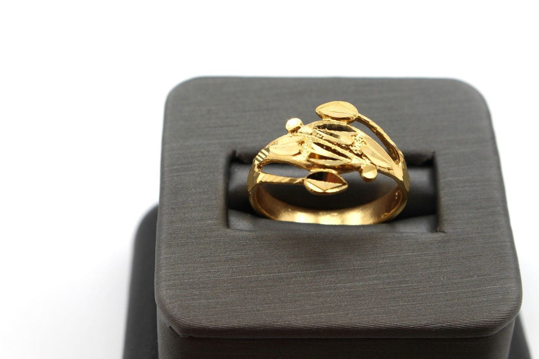 22k 22ct Solid Gold BEAUTIFUL WOMEN RING BAND Size 7.0 RESIZABLE R1371