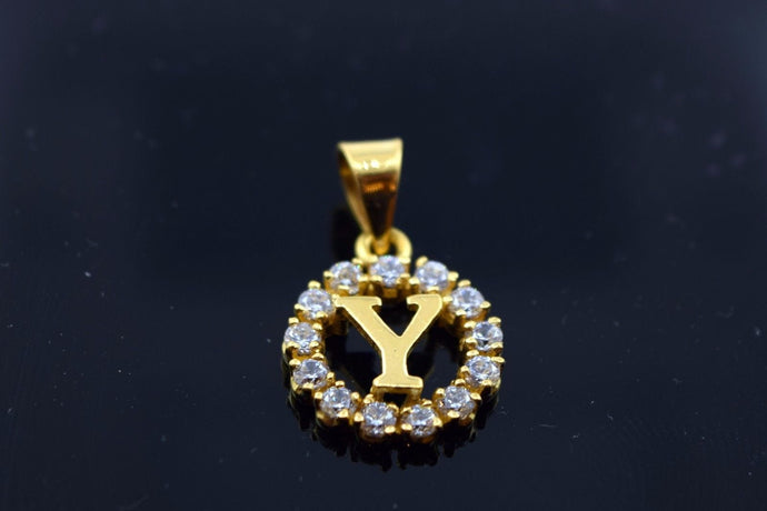 22k Jewelry Solid Gold STONE