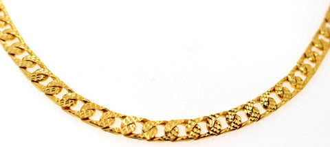 22k 22CT Yellow Solid Gold MIAMI CUBAN LINK MEN'S CHAIN 20 inch C894