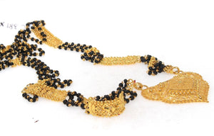 22k Yellow Solid Gold Chain Mangalsutra Modern Design Length 26 inch c381 | Royal Dubai Jewellers