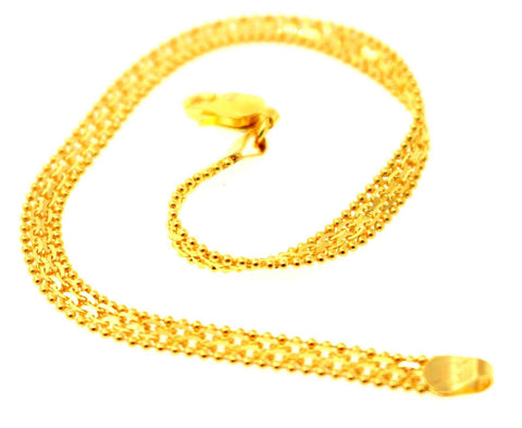 22k 22ct Solid Gold ELEGANT Bracelet Popcorn Design length 7 Inch b848 - Royal Dubai Jewellers