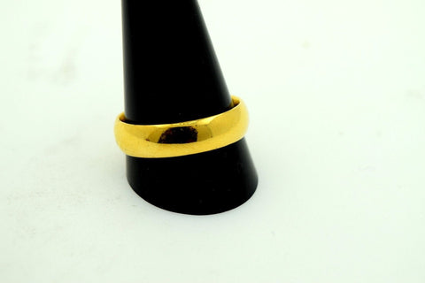 22k 22ct Solid Gold ELEGANT MENS Ring BAND size 9.75 mf | Royal Dubai Jewellers