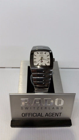 RADO SINTRA MEN'S WATCH AUTOMATIC SAPPHIRE ALL HIGHTEK SILVER CERAMIC R13598102