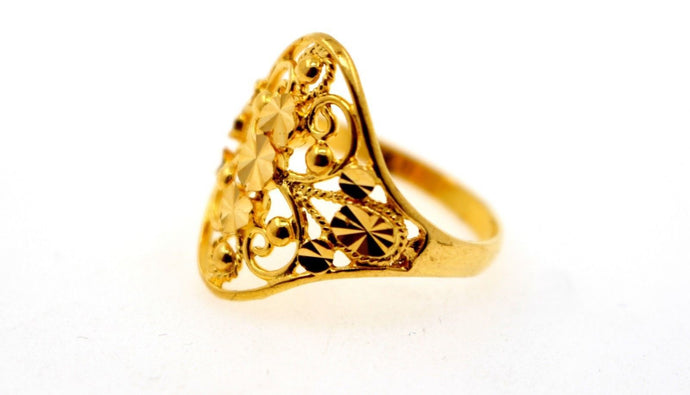 22k 22ct Solid Gold Elegant Designer ring band