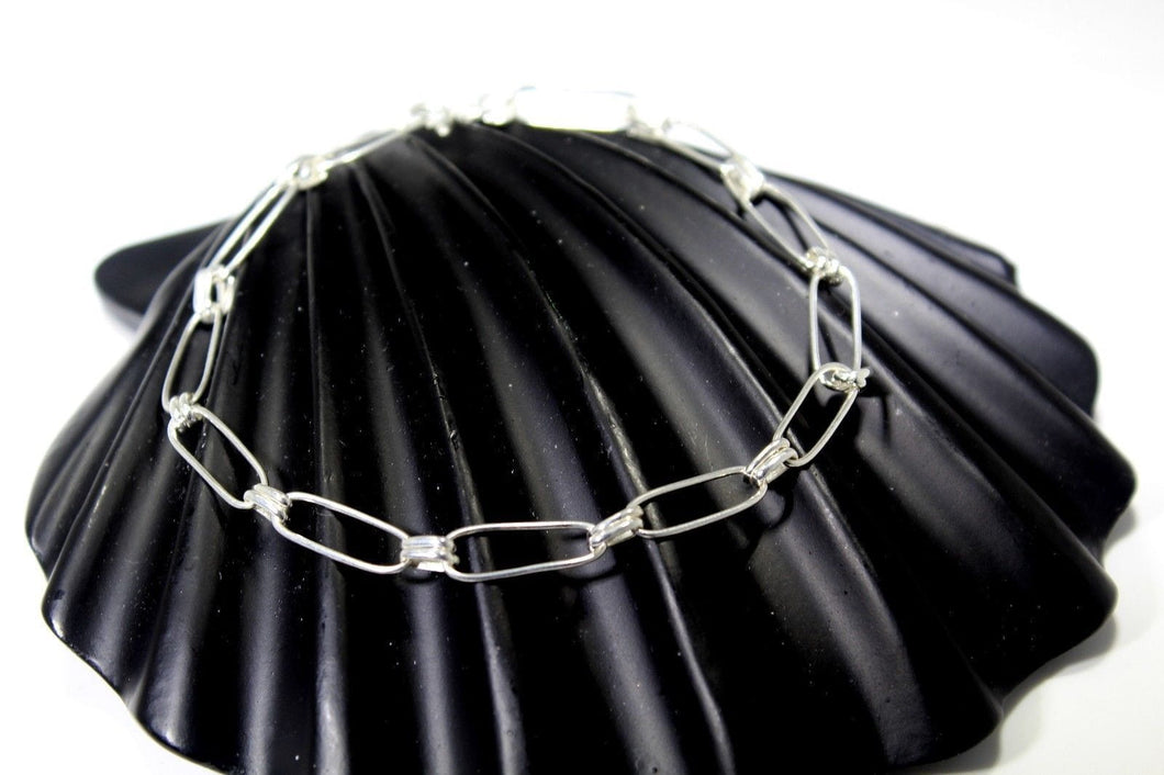1PC HANDMADE Solid Silver Payal 925 sbb134 Sterling adult ladies Anklets