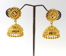 22k 22ct Jewelry Solid Gold JHUMKIE LONG JHUMKE DANGLING JHUMKA Earring E5886 | Royal Dubai Jewellers