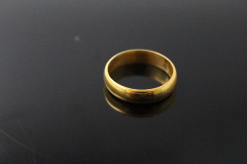 "22k 22ct Solid Gold ELEGANT PLAIN Ring SIZE 11.0 ""RESIZABLE"" R1580"