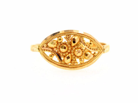 "22k 22ct Solid Gold ELEGANT LADIES BAND Ring SIZE 8.0 ""RESIZABLE"" R669"