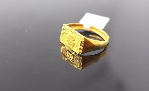 "22k 22ct Solid Gold ELEGANT Ladies Ring SIZE 9 ""RESIZABLE"" R570"
