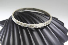 1PC HANDMADE men b101 Solid Sterling Silver 925 size 2.75 inch kara Bangle Cuff