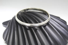 1PC HANDMADE men b43 Solid Sterling Silver 925 size 2.5 inch kara Bangle Cuff
