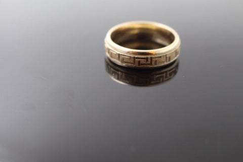 "22k 22ct Solid Gold ELEGANT Men Ring Band SIZE 10 ""NON RESIZABLE"" R1095 